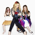TV personality Amanda Holden and adorable daughters Holly 9 and Lexie 4